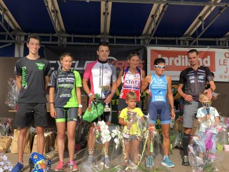 Aix 2018 -- podium scratch