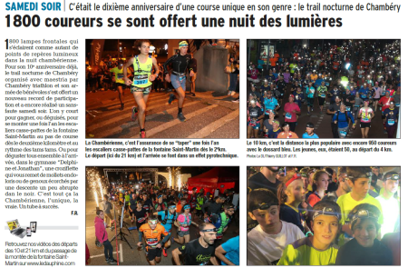 2018_10_22 -- Article DL Chambérienne